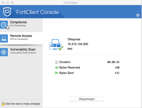 Configure the Fortinet Appliance to Interoperate with Okta via