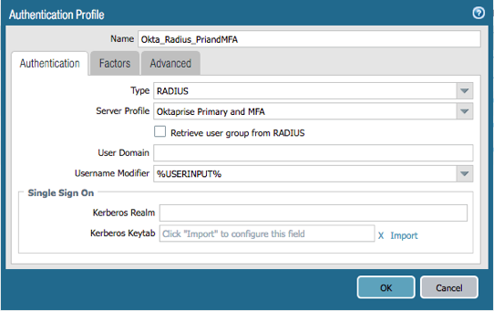 Configure Palo Alto Networks GlobalProtect VPN to Interoperate with